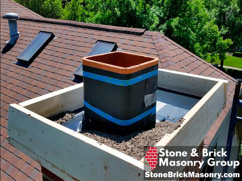 chimney cap repair